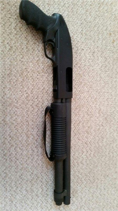 """Mossberg 590A1 AOW Pistol Grip 14"""" Barrel"""