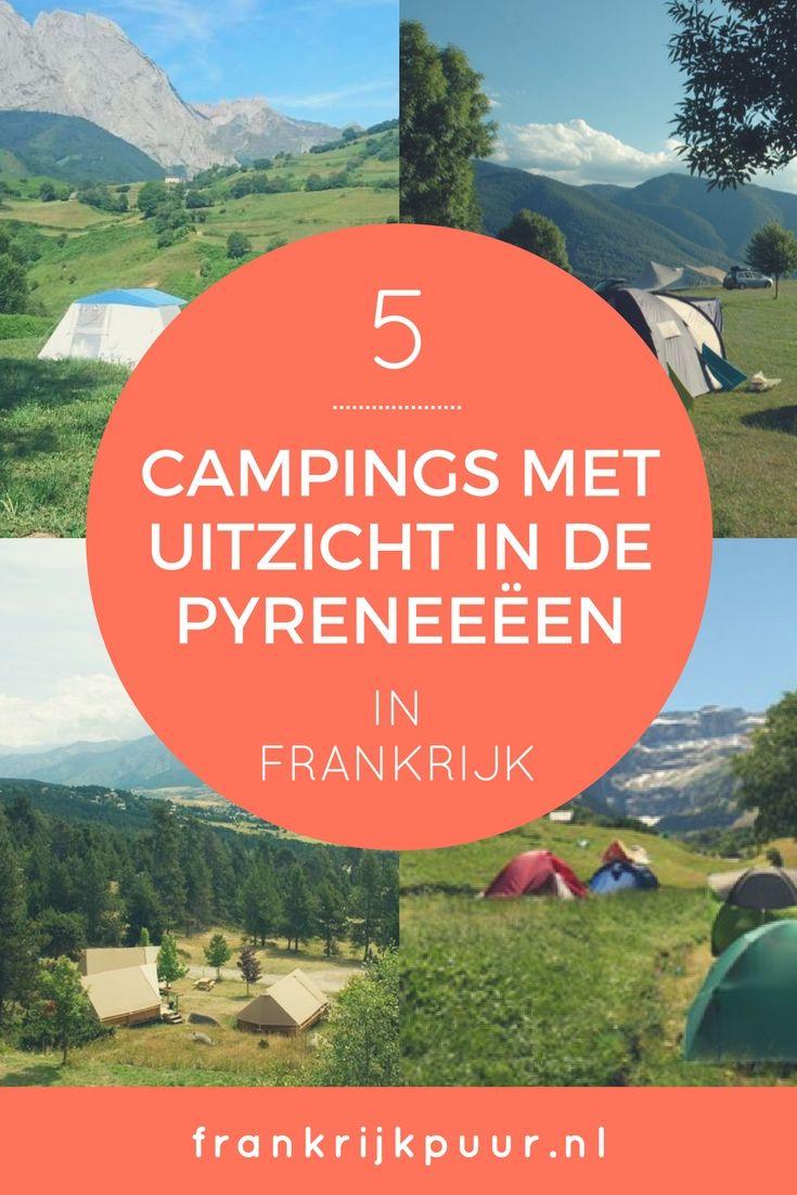 5 campings met uitzicht in de Pyreneeën