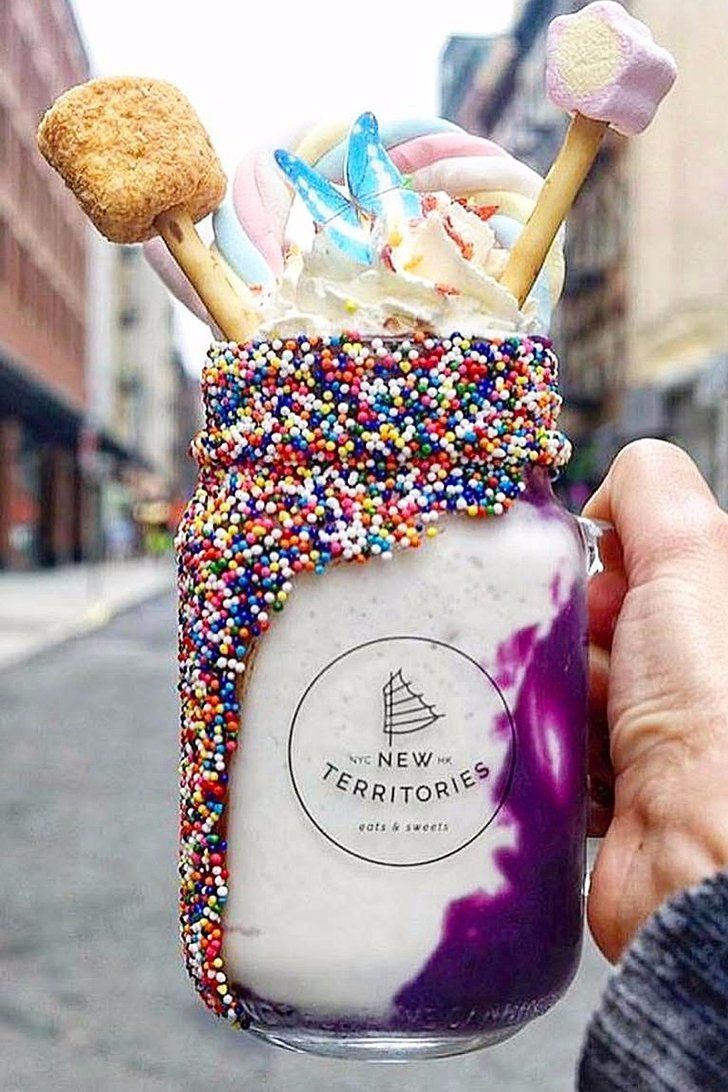 Dessert Goals: This Unicorn Milkshake From NYC's Latest Sweets Shop