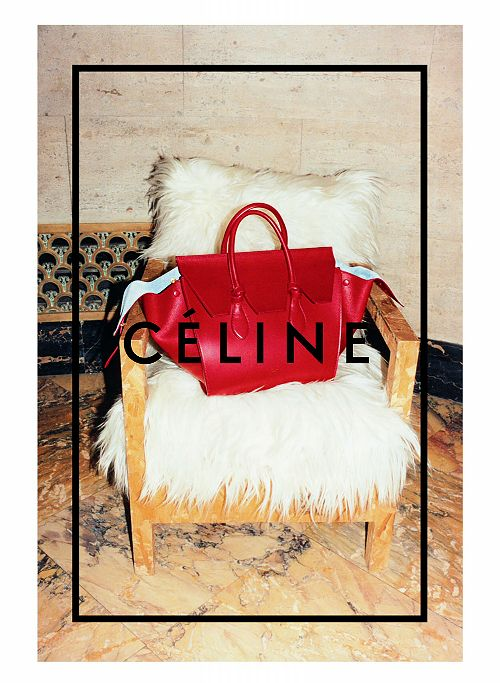 Céline Fall/Winter 2014 Advertising Campaign, ph. by Juergen Teller.