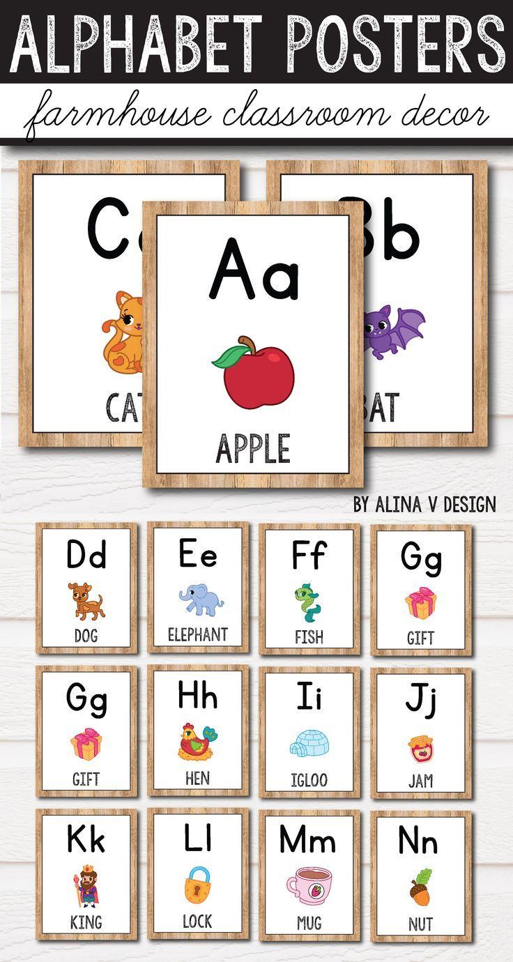 Classroom Alphabet Decor ~ Best preschool classroom decorating images on