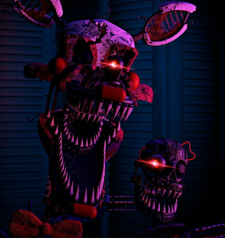 Our Friends And I Fnaf: Nightmare Mangle Sfm (by Toy Chica)
