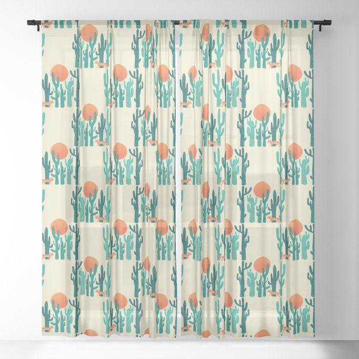 Desert Fox Sheer Window Curtains Dormroomdecor Curtains Best