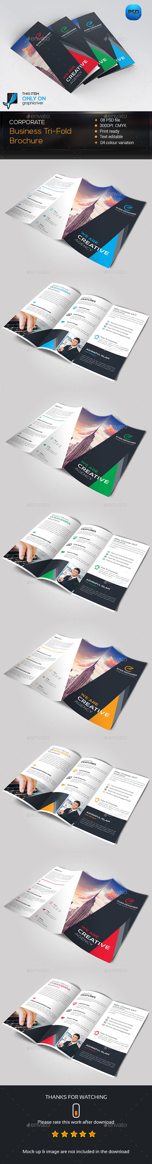Trifold Brochure Template PSD #design Download: http://graphicriver.net/item/trifold-brochure/14286880?ref=ksioks