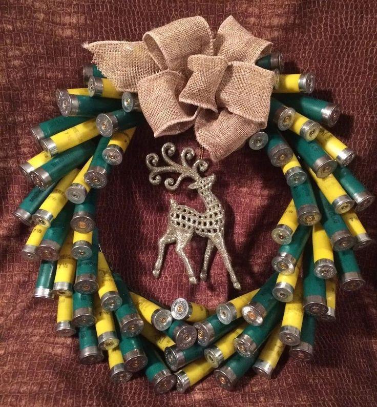 Green & Yellow Shotgun Shell Wreath  | eBay