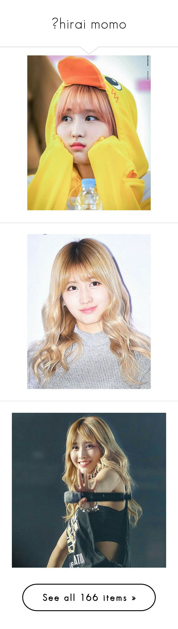 """""""⚫hirai momo"""" by housexofxcards ❤ liked on Polyvore featuring kpop, costumes, hirai momo and momo"""