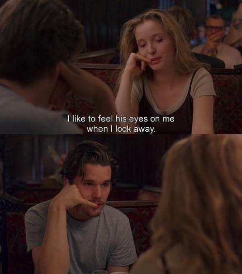 Before Sunrise (1995) Ethan Hawke Julie Delpy Dir. Richard Linklater