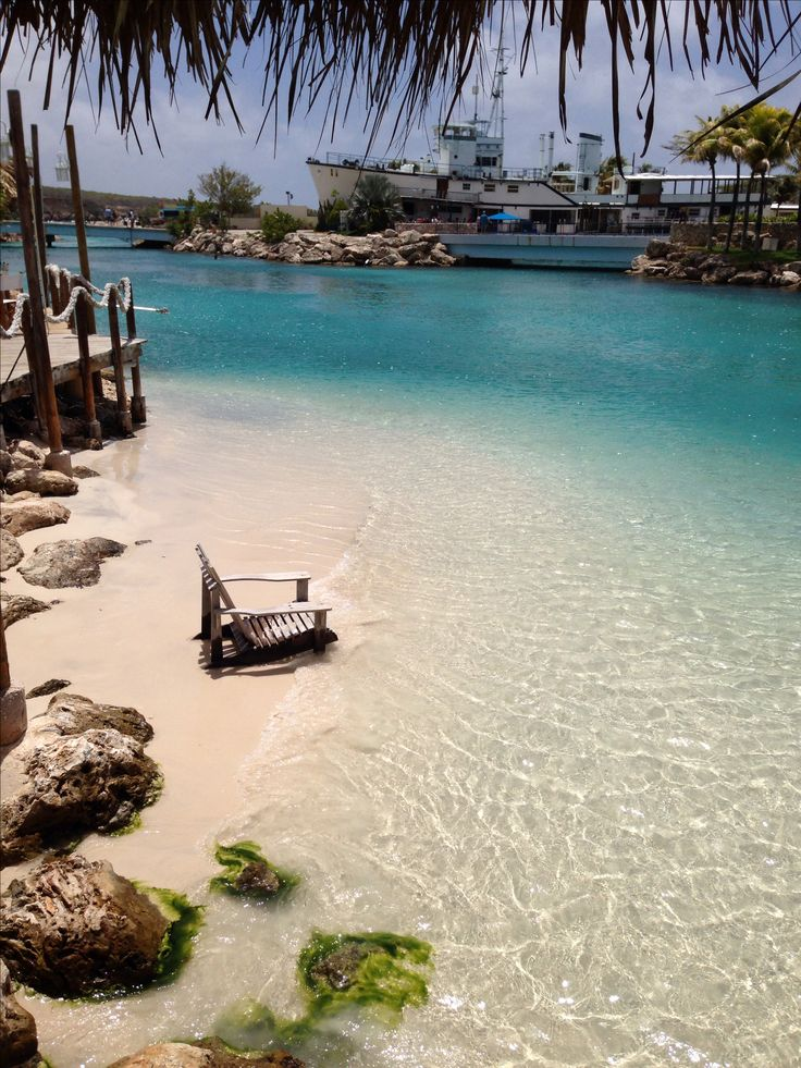 Mambo Beach | This man made marvel features the white sand beaches, crystal blue waters and shopping.