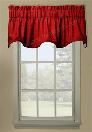 Hampton Duchess Filler Valance   Window Treatments. Bathroom CurtainsKitchen  CurtainsValance Window TreatmentsRed ...