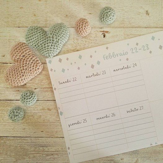 MaPetitHome: #9 weekly planner free printable