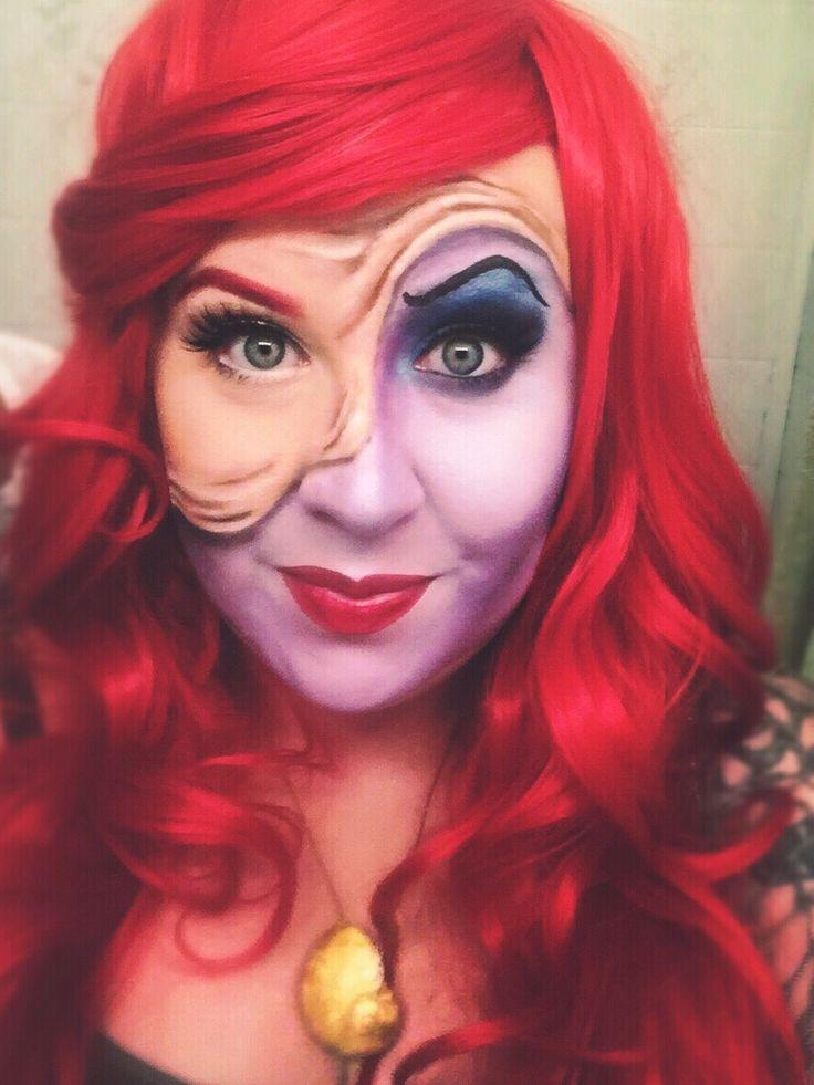 Ariel/Ursula Makeup by Murphy's Beauty Law