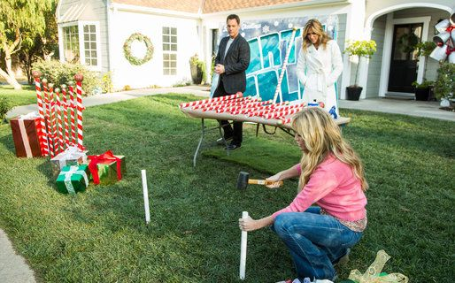 Diy Giant Candy Cane Picket Fence Home Amp Family