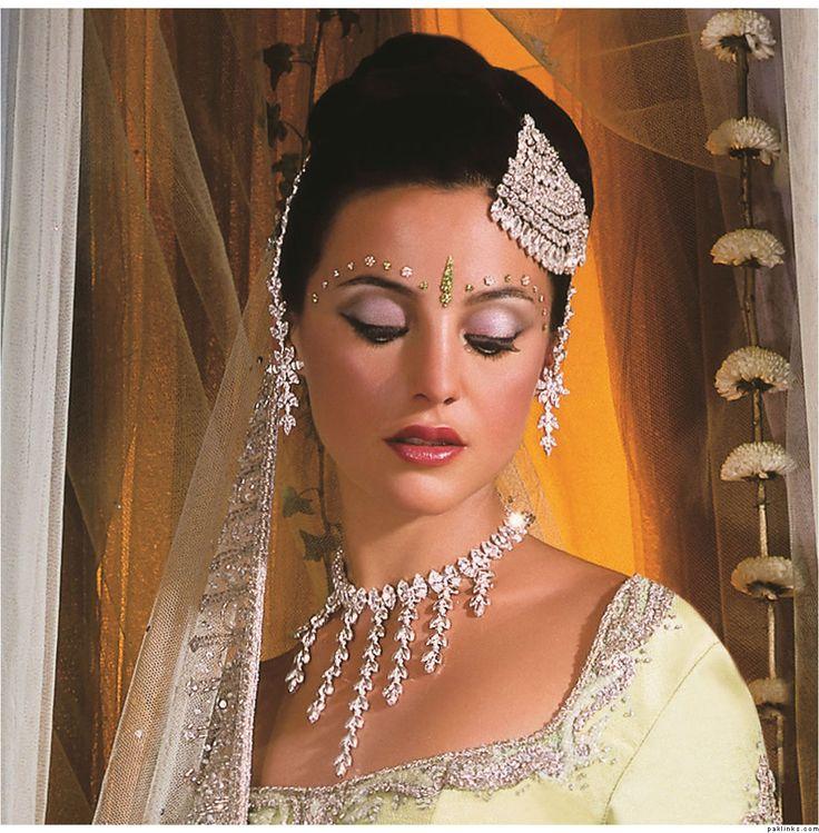 Modern Indian Wedding Jewellery: ... Bangles And Tikka According To