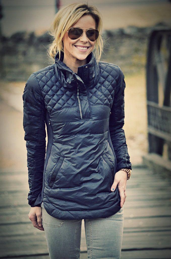 Lululemon What the Fluff pullover for outdoor running. @Katrina Alvarez Alvarez Hewitt @Ashley Walters Walters Kettler