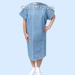 Adult and Children's Size Hospital Gown Pattern