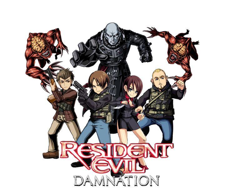 Resident Evil Damnation by juniorbunny.deviantart.com on @DeviantArt