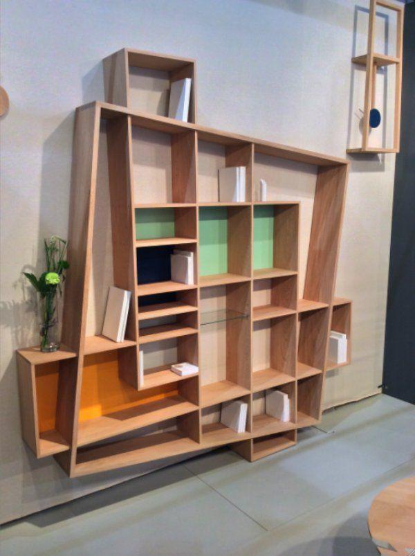 Salon Maison & Objet (janvier 2015) : les nouveautés meubles. Bibliothèque Frisco - Drugeot Labo