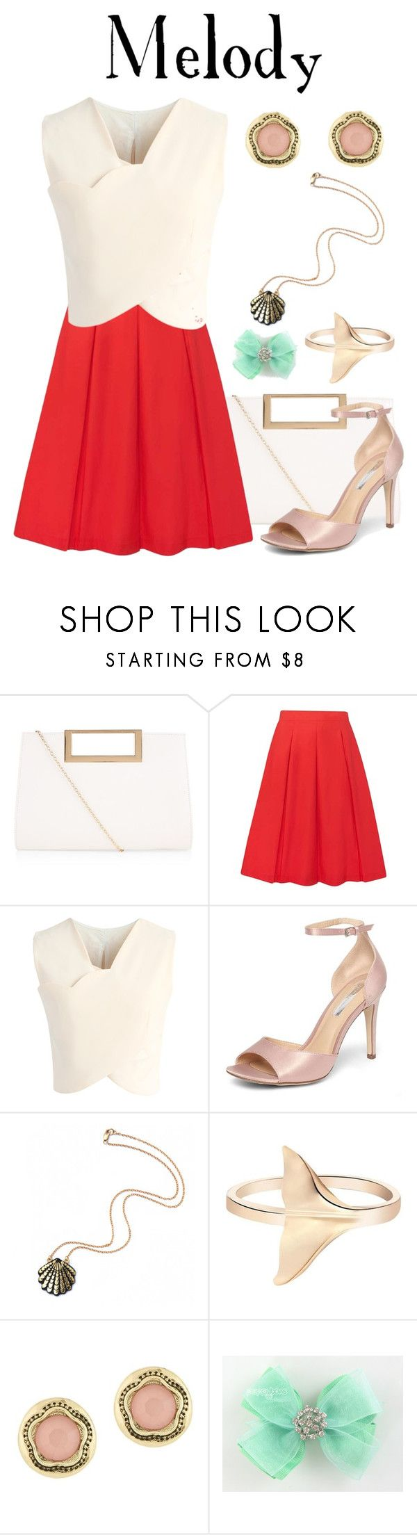 """""""Melody / Little Mermaid 2: Return to the Sea"""" by waywardfandoms ❤ liked on Polyvore featuring New Look, Dorothy Perkins, Chicwish, Rosita Bonita and Laundry by Shelli Segal"""