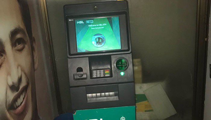 8 best anti skimming device images on pinterest cable computer caught on camera fraudsters install skimming device on atm in karachi cheapraybanclubmaster Choice Image