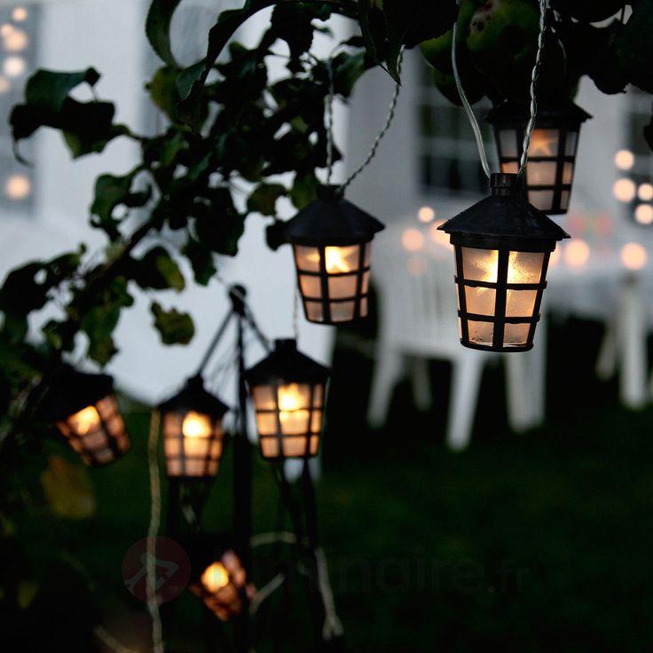 14 best Guirlandes et lanternes images on Pinterest Garlands - cube lumineux solaire exterieur
