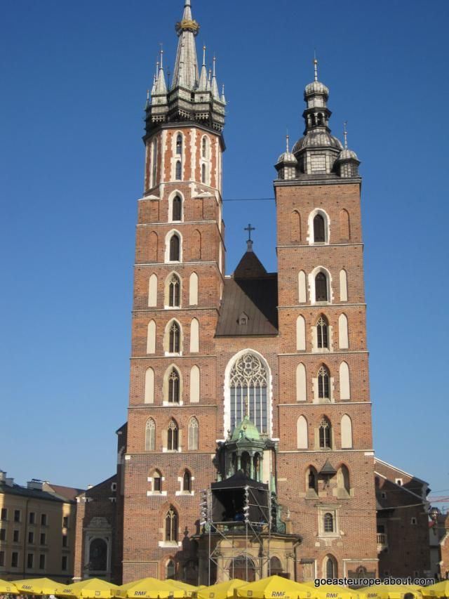 Poland Facts: St. Mary's Church, Krakow