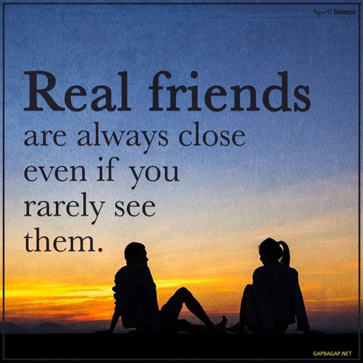 Well Said Quote About Real Friends