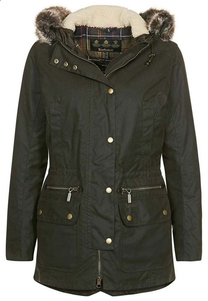 BARBOUR LADIES KELSALL WAXED WOMEN'S JACKET CLOTHING COATS LADIESWEAR #Barbour #Parka