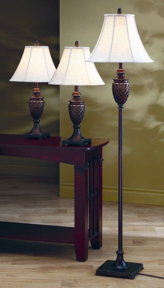 3 Piece Table L& Set & 21 best Floor Lamps images on Pinterest | For the home Floor lamps ...