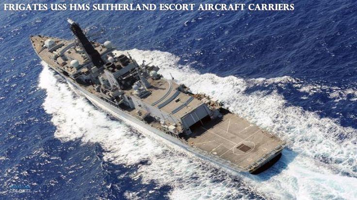 Frigates USS HMS Sutherland Escort aircraft carriers