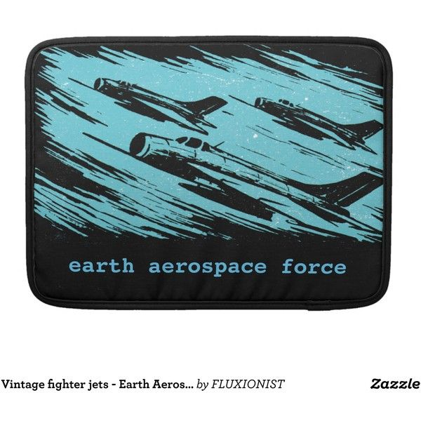 Earth Aerospace Force Sleeves For MacBook Pro (20.305 HUF) ❤ liked on Polyvore featuring accessories and tech accessories