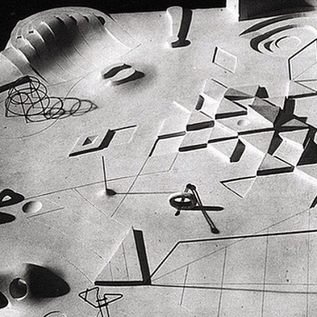 SORN/Design: Isamu Noguchi's early scale model displaying his proposal for a playground   sornmag.com