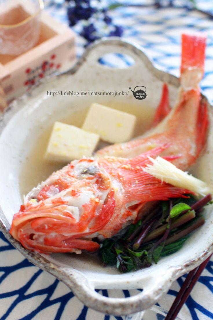 松本 純子 - 極上な魚は酒で煮る「キンキの酒煮」のレシピ - Powered ...