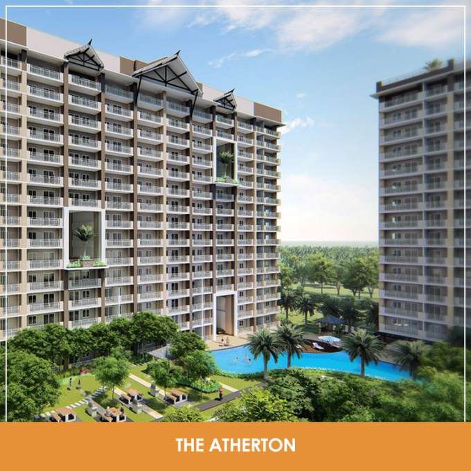 Atherton Residences Paranaque Dmci Condo Sucat Dmci Philippines 1 Bedroom 29 Sqm 3 332 800 2 Bedroom 61 50 Sqm Condo Sucat Condominium