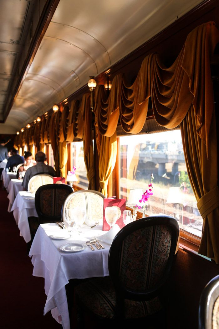 Date Night: the Napa Wine Train - Hither and Thither