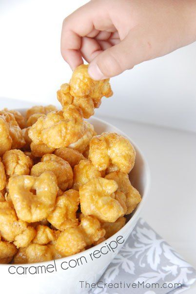 Caramel Corn Puffs Recipe