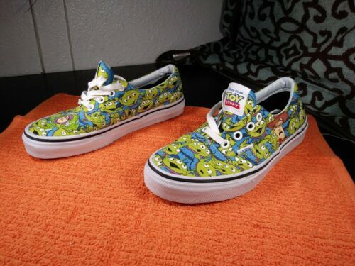 Vans Era Disney Pixar Toy Story Aliens Shoe Glow In the Dark