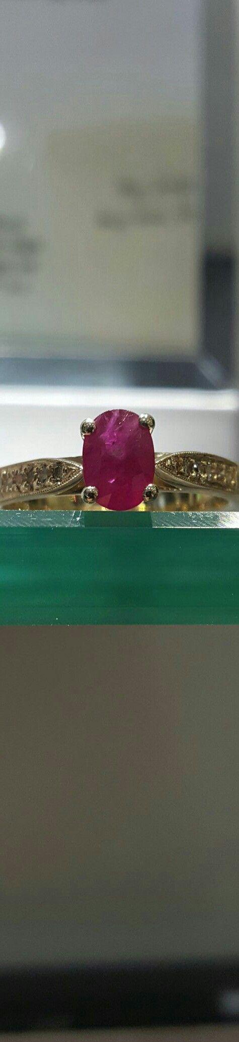 Ruby & Diamond Ring made by Brett