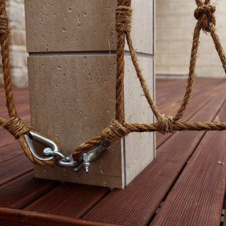 Rope railings seaside pinterest more railings porch for Heavy rope for nautical use