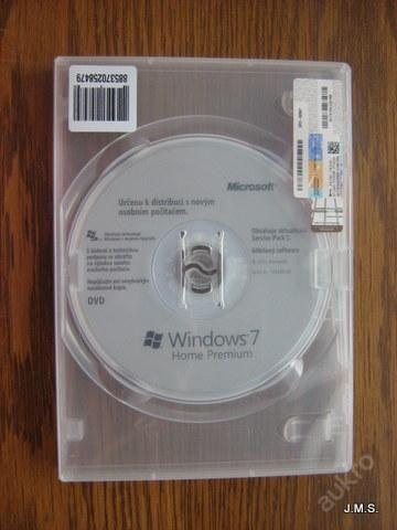 Windows 7/CD instal.