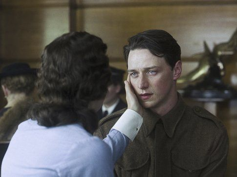 Still of Keira Knightley and James McAvoy in Atonement (2007)