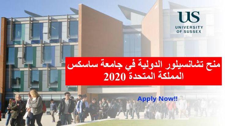 منح تشانسيلور الدولية في جامعة ساسكس المملكة المتحدة 2020 University Of Sussex University How To Apply