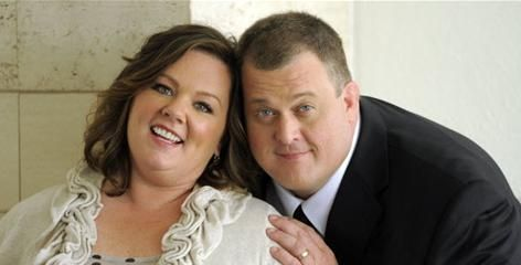 Mike & Molly: Melissa McCarthy, Billy Gardell.