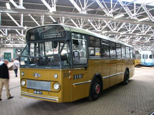 Rotterdam - RET stadsbus 309, Remise Hillegersberg
