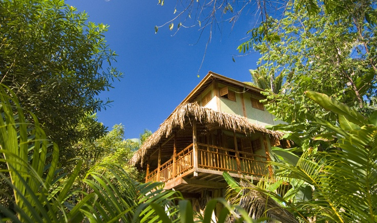 Live in the best of both worlds in your beautiful luxury teak bungalow amid the trees one-quarter mile from our beach and in a great location to explore the adjacent beach just one mile down a beautiful jungle road. #Sayulita #RivieraNayarit http://www.playa-escondida.com/accommodations/birdcanyon/