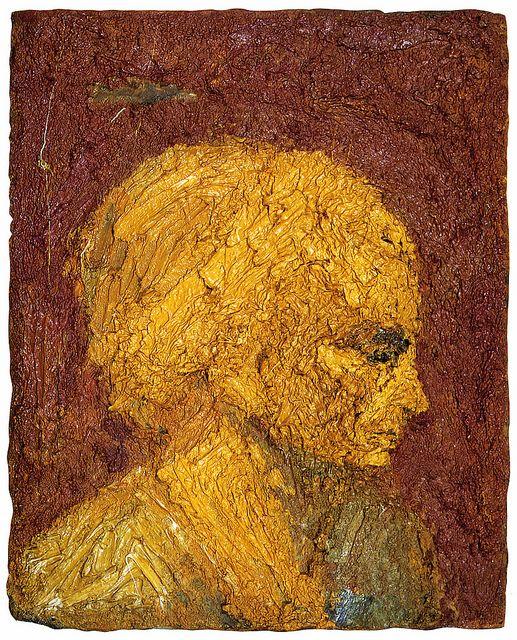 Frank Auerbach • Head of EOW, 1957