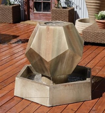 Hexagonal Water feature
