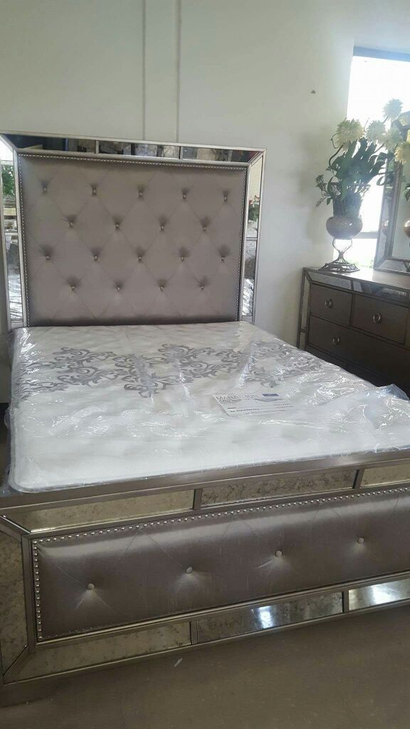 New Queen Bed Not Mattress For Sale In Chino Ca Small Room