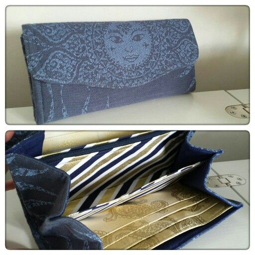 Necessary Clutch Wallet by EmBee Designs (made from Oscha Surya)
