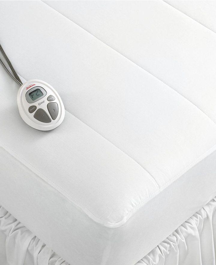 Sunbeam Twin XL Quilted Heated Mattress Pad - $95.99