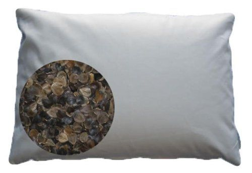 These homemade organic buckwheat pillows are inexpensive and completely natural. This easy to make DIY is a great alternative to expensive organic bedding!